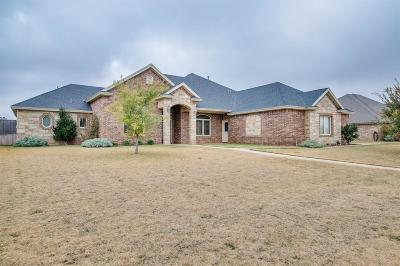 Lubbock Single Family Home For Sale: 6209 110th Street