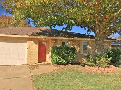 Lubbock Single Family Home For Sale: 3222 90th Street