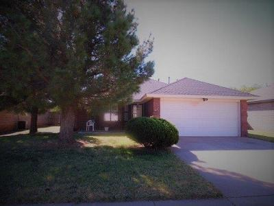 Lubbock Single Family Home For Sale: 1113 81st Street