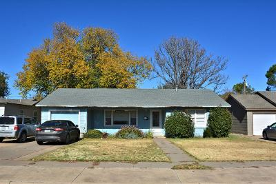 Lubbock Single Family Home For Sale: 3312 32nd Street
