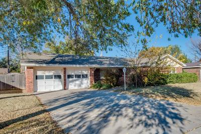 Lubbock Single Family Home For Sale: 2306 61st Street