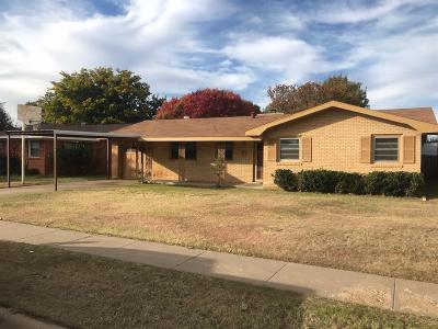 Lubbock Single Family Home Under Contract: 5430 14th Street