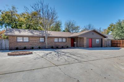 Lubbock Single Family Home For Sale: 2303 59th Street
