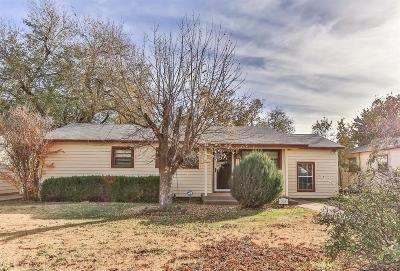 Lubbock TX Single Family Home For Sale: $79,900