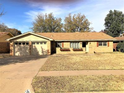 Lubbock Single Family Home For Sale: 4508 63rd Street