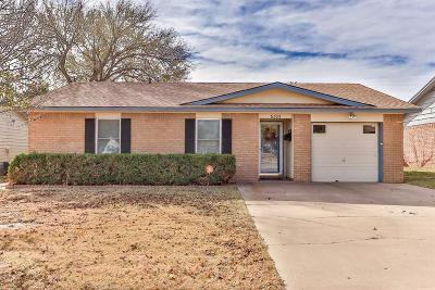 Lubbock Single Family Home For Sale: 6305 30th Street