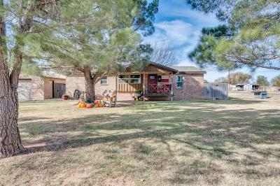 Shallowater Single Family Home Under Contract: 11025 North County Road 1500