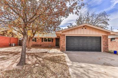 Lubbock Single Family Home For Sale: 5435 31st Street