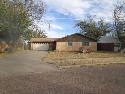 Lubbock TX Single Family Home For Sale: $97,500