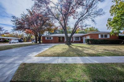 Lubbock Single Family Home For Sale: 3301 38th Street