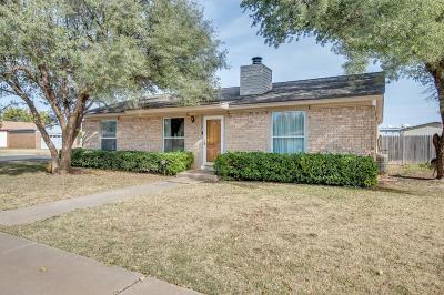 Lubbock Single Family Home For Sale: 8401 Geneva Avenue