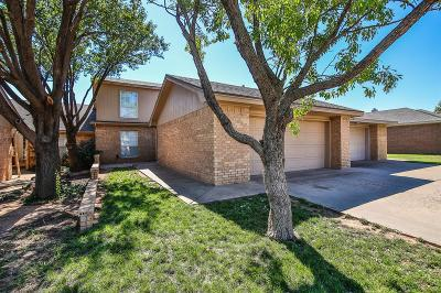 Lubbock Townhouse For Sale: 5525 93rd Street