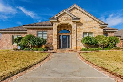 Lubbock Single Family Home For Sale: 3806 103rd Street