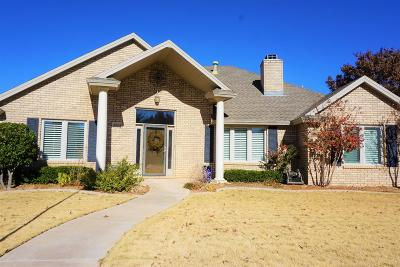 Lubbock Single Family Home For Sale: 4004 99th Street