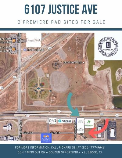 Lubbock Commercial Lots & Land For Sale: Justice Avenue