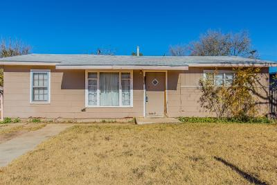 Lubbock County Single Family Home Under Contract: 1109 East Stanford Street