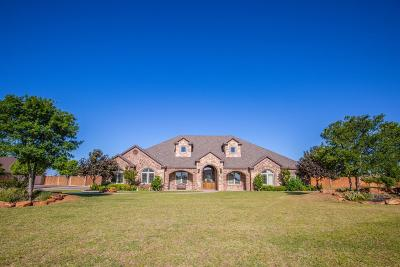 Lubbock Single Family Home For Sale: 16004 County Road 1820