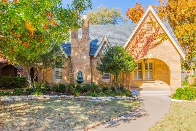 Lubbock Single Family Home For Sale: 2608 22nd Street