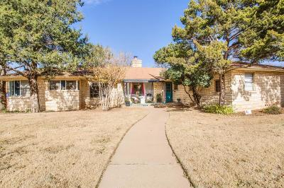 Lubbock Single Family Home For Sale: 2522 26th Street