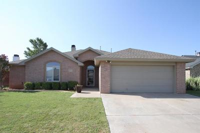 Lubbock Single Family Home Under Contract: 3013 104th Street