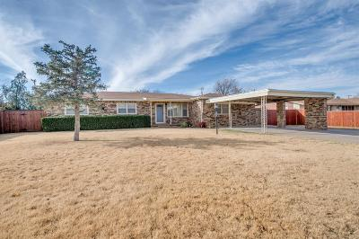Slaton  Single Family Home For Sale: 835 South 21st Street