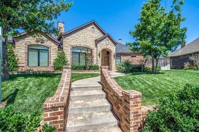Lubbock Single Family Home For Sale: 3810 109th Street