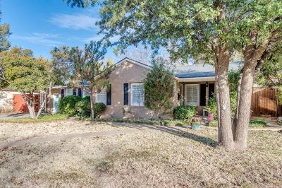Lubbock Single Family Home For Sale: 3004 25th Street