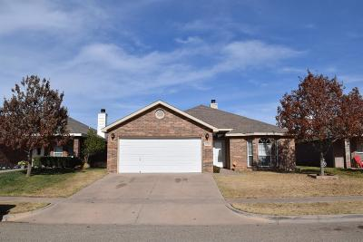 Lubbock Single Family Home For Sale: 6546 92nd Street