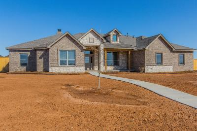 Lubbock Single Family Home For Sale: 13507 Hyden Avenue