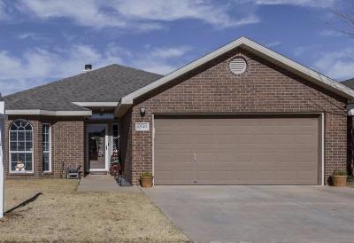 Lubbock TX Single Family Home For Sale: $159,950