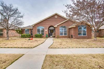 Lubbock Single Family Home Under Contract: 10607 Raleigh Avenue