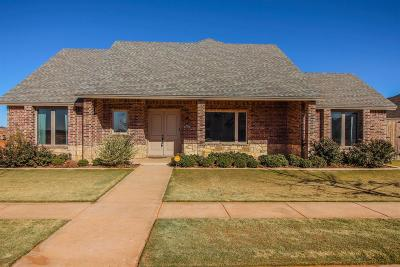 Lubbock Single Family Home For Sale: 6312 89th Street