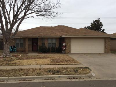 Lubbock TX Single Family Home Under Contract: $138,500