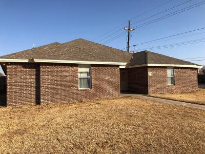 Lubbock Multi Family Home For Sale: 6102 79th Street