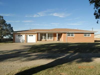 Tahoka Single Family Home Under Contract: 1751 Farm Road 2956 Highway