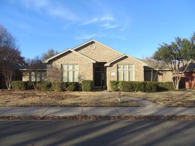 Lubbock Single Family Home For Sale: 5728 83rd Lane