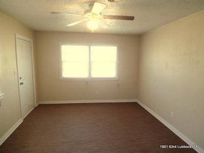 Lubbock Rental For Rent: 1901 63rd