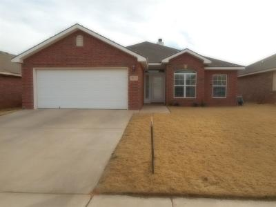 Lubbock Single Family Home For Sale: 7013 94th Street
