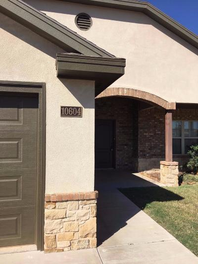 Lubbock Townhouse For Sale: 10604 York Avenue
