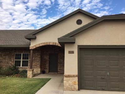 Lubbock Townhouse For Sale: 10602 York Avenue