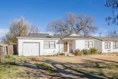 Lubbock Single Family Home For Sale: 522 52nd Street