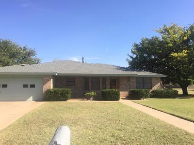 Slaton  Single Family Home Under Contract: 850 South 21st Street