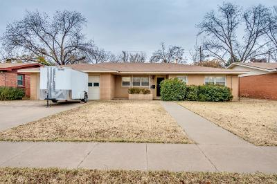 Lubbock Single Family Home For Sale: 3506 47th Street