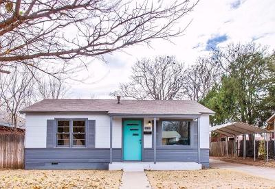 Lubbock Single Family Home For Sale: 2315 38th Street