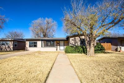 Lubbock Single Family Home For Sale: 4014 37th Street