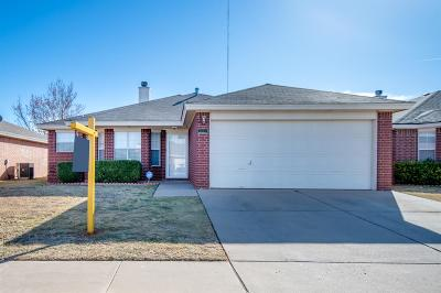 Lubbock Single Family Home For Sale: 1803 80th Street