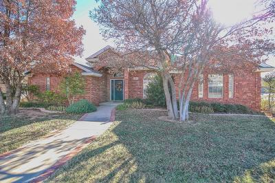 Lubbock Single Family Home For Sale: 5809 87th Street