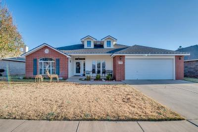 Lubbock Single Family Home For Sale: 6709 92nd Street