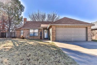 Lubbock Single Family Home For Sale: 2313 84th Street