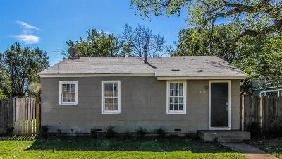 Lubbock TX Single Family Home For Sale: $57,500